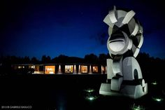 Arte in giardino - Villa Walter Fontana