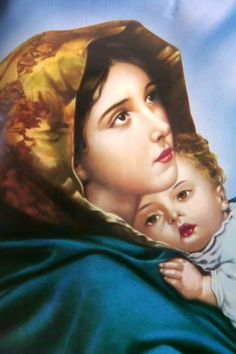 The Virgin and Jesus (a classic image in my youth) Jesus And Mary Pictures, Images Of Mary, Mary And Jesus, Blessed Mother Mary, Blessed Virgin Mary, Catholic Art, Catholic Saints, Lds Art, Queen Of Heaven