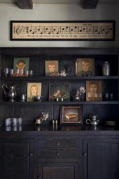 Shelving precision focus-damnit: (via House of Spirits: Jamie Kidson's Mission Revival in Oakland: Remodelista) Interior Decorating, Interior Design, Decorating Ideas, Sombre, Decoration, Interior Inspiration, Daily Inspiration, Interior And Exterior, Living Spaces