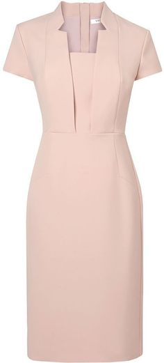 What to wear to horse racing? This pink L. Bennett Delta Hemmers dress is eleg… – Women's Fashion Work Fashion, Retro Fashion, Vintage Fashion, Womens Fashion, Fashion Design, Trendy Fashion, Fashion Fashion, Fashion Ideas, Trendy Dresses