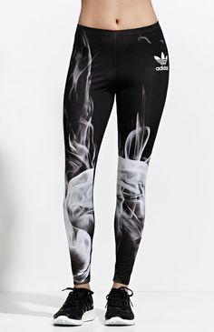 Adidas x Rita Ora White Smoke Leggings
