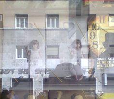 Fabio, the Gothic reader in the mirror, libreria Arion Eritrea, Roma