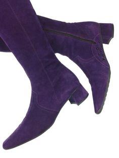 Prego paarse suède laarzen! Tante Twiggy Shop <3 www.marktplaats.nl/verkopers/20281615.html