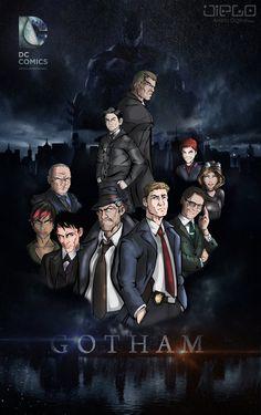 Gotham  http://diego-artistadigital.deviantart.com/