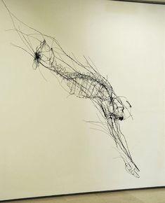 これが針金だって信じられる?スケッチ描きにしか見えないワイヤーアート作品いろいろ