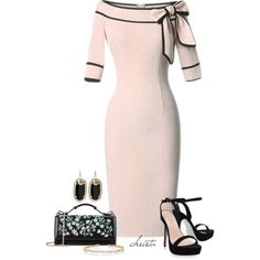 Untitled #4167 by christa72 on Polyvore featuring Carvela Kurt Geiger, RED Valentino, Kendra Scott and Suzanne Kalan