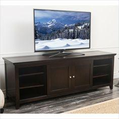 Abbyson Living Cassie Oak TV Console in Espresso Finish - HM-5480-1340 - Lowest price online on all Abbyson Living Cassie Oak TV Console in Espresso Finish - HM-5480-1340