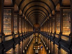 Book your holiday in Dublin with British Airways. Book together and save on our Dublin flight & holiday packages. Get great deals to Dublin today. Belfast, Attraction, Trinity College Dublin, Trinity Library, Visit Dublin, College Library, Dublin Library, Old Libraries, Bookstores