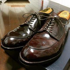 alden shoes cordovan