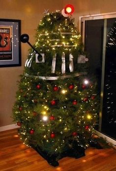 Looks like someone wants to exterminate Christmas.