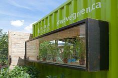 Brickworks Welcome Hut at Evergreen Brickworks by Levitt Goodman Architects | Inhabitat - Green Design, Innovation, Architecture, Green Building