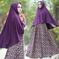 Baju Muslim Cantik Murah B124 Maureen Syar'i Trendy - http://bajumuslimbaru.com/baju-muslim-cantik-murah-b124-maureen-syari