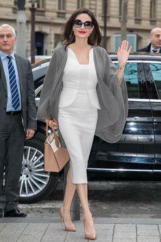 Angelina Jolie in Chaumet earrings.