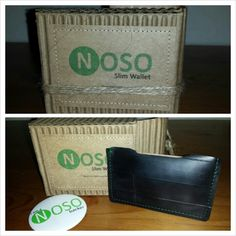 Made from recyclable bicycle tires. Comes an ultra slim wallet from NOSO (No One Singled Out) BRAND....go to NOSOBRAND.COM to find out more and make a purchase