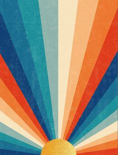 Sunrise Wall Tapestry by cali_zinnia Outer Space Wallpaper, Iphone Background Wallpaper, Aesthetic Iphone Wallpaper, Aesthetic Wallpapers, Hippie Wallpaper, Retro Wallpaper, Cute Patterns Wallpaper, Jolie Photo, Retro Color