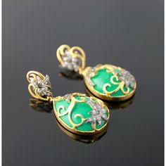 Turquoise Egg Drop - http://www.zaarif.com/turquoise-egg-drop-2