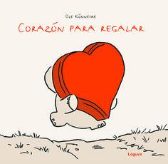 "En #San Valentín regala libros, regala tu corazón: ""Corazón para regalar""."