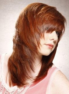 Smooth Amazing Soft Layered Cut Long Straight Wig 100% Human Hair about 14 Inches
