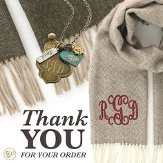 Thank you for your order | Initial Outfitters