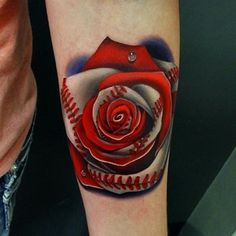Morph Rose Tattoo By Andres Acosta can't wait for his work to be on my hand