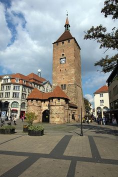 Nuremberg, Germany. Picturesque, etc. We spent a day here.