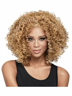 NOW by LuxHair Curl Intense Heat Friendly Synthetic Wig • NOW by LuxHair  I think I found River Song's wig!