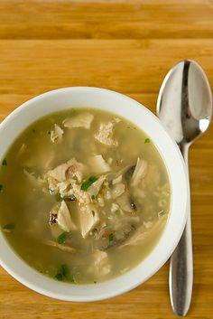 Turkey, Mushroom & Wild Rice Soup