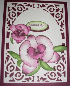 Orchids by Nan Cee's - Cards and Paper Crafts at Splitcoaststampers