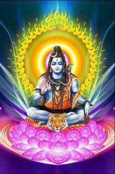 Lord shiva as adiyogi in creative art painting Lord Shiva Statue, Lord Shiva Pics, Lord Shiva Hd Images, Lord Shiva Family, Lord Vishnu, Shiva Parvati Images, Shiva Hindu, Shiva Art, Hindu Art
