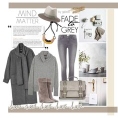 Fade to Grey by gabree on Polyvore featuring The Row, Monki, Paige Denim, Yves Saint Laurent, River Island, Marni, rag