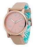 Roxy Women's RX/1000RGRG THE VICTORIA Rose Gold-Tone and Cream Canvas Strap Watch Reviews - http://themunsessiongt.com/roxy-womens-rx1000rgrg-the-victoria-rose-gold-tone-and-cream-canvas-strap-watch-reviews/