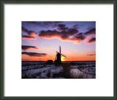 Herringfleet Mill Framed Print By Gary Walker