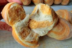 Pan di Pane: Pane bi-gusto con pomodoro.