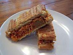 George Foreman Grill Recipes: Spaghetti and Meatball Sandwich Recipe