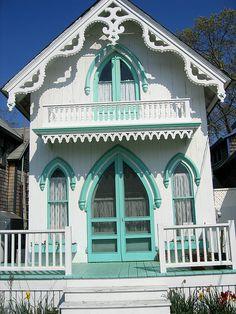 Gingerbread house, Martha's Vineyard Island, Mass.  http://www.flickr.com/photos/83413629@N00/873128855/