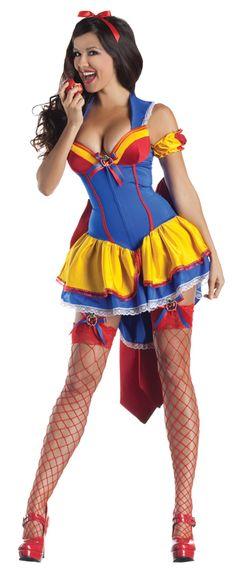 snow white halloween costumes women | ... Shaper Snow White Adult Womens Costume Princess Sexy Halloween | eBay