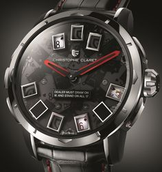 Christophe Claret. If blackjack is your game, then this watch has the complication for you. #Watch