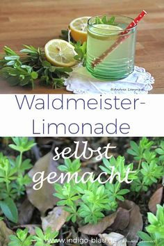 Woodruff lemonade homemade Waldmeister-Limonade selbst gemacht You can easily make woodruff lemonade yourself. Read more on www. Good Lemonade Recipe, Best Lemonade, Homemade Lemonade Recipes, Healthy Eating Tips, Healthy Drinks, Smoothie Recipes, Smoothies, Chocolat Recipe, Mint Salad