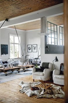 Scandinavian Chic House With Rustic And Vintage Features | DigsDigs