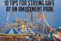 Tips to Stay Safe at an amusement park