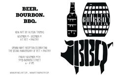 Beer. Bourbon. BBQ. Party.
