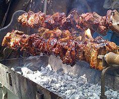 Souvla - Cyprus National Dish as experienced