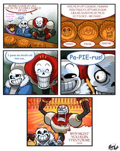 No comment really, just that Sans might have not been seen for a couple weeks after that