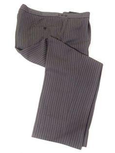 Ex-Hire Morning Suit Trousers - Grey & Black Morning Suit Striped Trousers Morning Dress, Morning Suits, Men Formal, Formal Wear, Trouser Suits, Trousers, Dinner Suit, Occasion Wear, Dress Suits