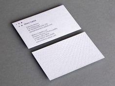 Wolos Capital - Business Card Design Inspiration | Card Nerd
