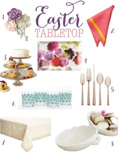Easter Tabletop Products - Celebrate Magazine