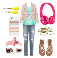 Colorful by shreyatorvi on Polyvore featuring polyvore, fashion, style, Wildfox, Zizzi, Joe's Jeans, Beats by Dr. Dre, Billabong, INC International Concepts, Kendra Scott, Kate Spade, Elizabeth Arden and clothing