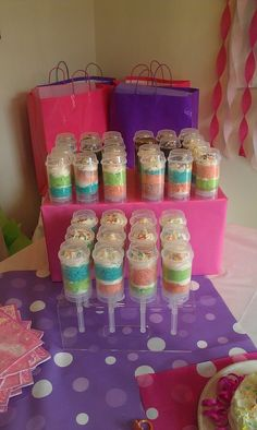 Darla's Cake Push up Pops cute for kids birthday party