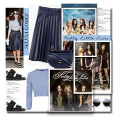 """TV Series: Pretty Little Liars"" by sweta-gupta ❤ liked on Polyvore featuring J.Crew, Topshop, Marni, Chloé and pll"