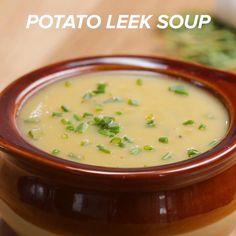 Potato Leek Soup by Tasty